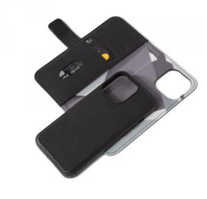 Decoded Detachable Wallet – skórzana obudowa ochronna do iPhone 13 Pro (czarna)