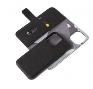 Decoded Detachable Wallet – skórzana obudowa ochronna do iPhone 13 Pro Max (czarna)