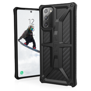 UAG Monarch - obudowa ochronna do Samsung Galaxy Note 20 (carbon fiber)