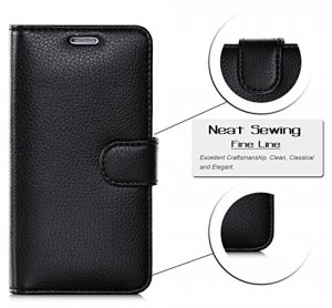 FYY Samsung Galaxy S6 - Etui book case (black)