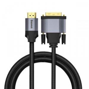 BASEUS 4K HDMI TO DVI CABLE 200CM DARK GREY