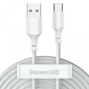 BASEUS WISDOM 2-PACK TYPE-C 150CM/5A WHITE
