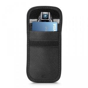 KLATKA FARADAYA TECH-PROTECT V1 KEYLESS RFID SIGNAL BLOCKER CASE CROSS BLACK