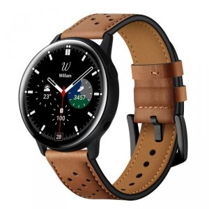 TECH-PROTECT LEATHER SAMSUNG GALAXY WATCH 4 40 / 42 / 44 / 46 MM BROWN