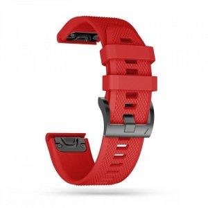 TECH-PROTECT SMOOTH GARMIN FENIX 3/5X/3HR/5X PLUS/6X/6X PRO RED