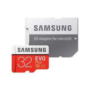 Samsung MicroSDHC EVO Plus karta pamięci micro SD 32 GB z adapterem SD Class 10 MB-MC32GA/EU