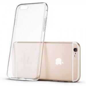 Żelowy pokrowiec etui Ultra Clear 0.5mm iPhone 6S Plus / 6 Plus przezroczysty