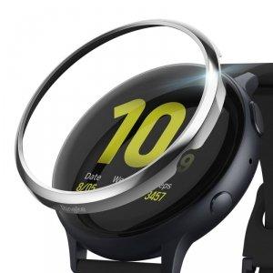 Ringke Bezel Styling etui ramka koperta pierścień Samsung Galaxy Watch Active 2 40 mm srebrny (RGSG0045)