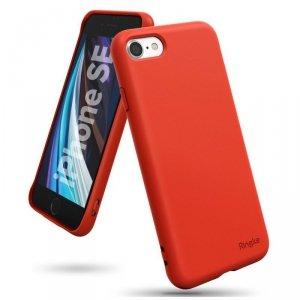 Ringke Air S ultracienkie żelowe etui pokrowiec iPhone SE 2020 / iPhone 8 / iPhone 7 czerwony (ADAP0024)