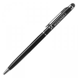 długopis rysik do ekranów dotykowych tabletu smartfona czarny