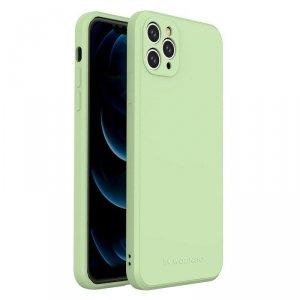 Color Case silikonowe elastyczne wytrzymałe etui iPhone 11 Pro Max zielony