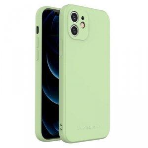 Color Case silikonowe elastyczne wytrzymałe etui iPhone 8 Plus / iPhone 7 Plus zielony