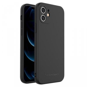 Color Case silikonowe elastyczne wytrzymałe etui iPhone 8 Plus / iPhone 7 Plus czarny