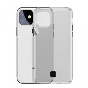 Baseus Transparent Key usztywnione etui z żelową ramką iPhone 11 czarny (WIAPIPH61S-QA01)