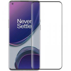 Nillkin 3D DS+MAX ultracienkie szkło hartowane na cały ekran z ramką 9H OnePlus 9 Pro czarny
