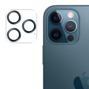 Joyroom Shining Series szkło hartowane na cały aparat obiektyw kamerę do iPhone 12 Pro Max niebieski (JR-PF689)