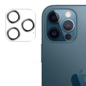 Joyroom Shining Series szkło hartowane na cały aparat obiektyw kamerę do iPhone 12 Pro Max srebrny (JR-PF689)
