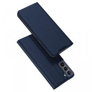 Dux Ducis Skin Pro kabura etui pokrowiec z klapką Samsung Galaxy S21 FE niebieski