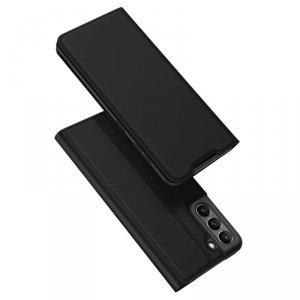 Dux Ducis Skin Pro kabura etui pokrowiec z klapką Samsung Galaxy S21 FE czarny