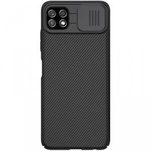 Nillkin CamShield Case etui pokrowiec osłona na aparat kamerę Samsung Galaxy A22 5G czarny