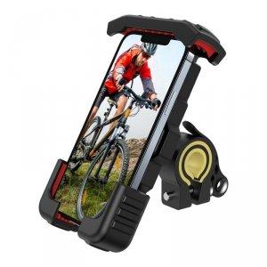 Joyroom uniwersalny rowerowy uchwyt na telefon na rower motocykl kierownicę czarny (JR-ZS264)