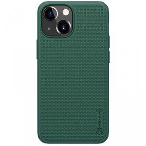 Nillkin Super Frosted Shield Pro wytrzymałe etui pokrowiec iPhone 13 mini zielony