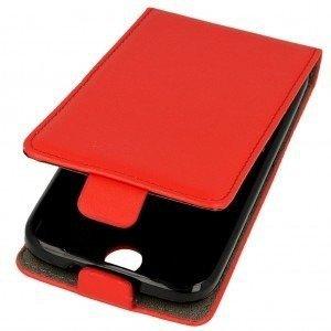 Kabura pionowa rubber HUAWEI HONOR 6X czerwony