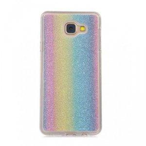 Etui Glitter IPHONE 8 tęczowe