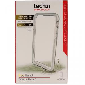 Etui pancerne Tech21 evo band Iphone 6 6s clear