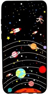 Etui Slim case Art SAMSUNG GALAXY A9 2018 planeta