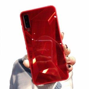 Etui Diamond Stone SAMSUNG GALAXY A7 2018 czerwone