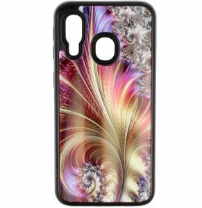 Etui Glass Art SAMSUNG GALAXY A7 2018 styl 3