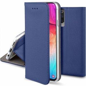 Etui portfel Flip Magnet LG K50/Q60 granatowe