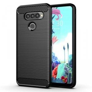 Etui LG K50S Pancerne Carbon czarne