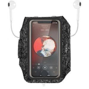 Opaska sportowa na rękę do telefonu Rock Sport Armband czarna
