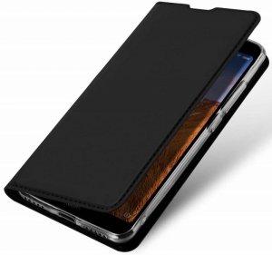 Etui NOKIA 1.3 z klapką Dux Ducis skórzane Skin Leather czarny