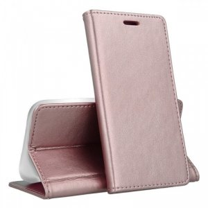 Etui MOTOROLA MOTO E6+ PLUS portfel z klapką skóra ekologiczna Kabura Magnet Book jasny róż