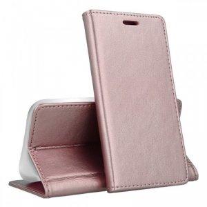Etui XIAOMI REDMI 8A portfel z klapką skóra ekologiczna Kabura Magnet Book jasny róż