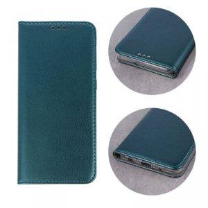 Etui SAMSUNG GALAXY A20E portfel z klapką skóra ekologiczna Kabura Magnet Book ciemnozielone