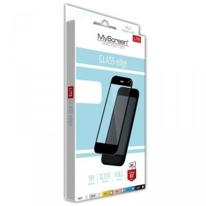 Szkło Hartowane IPHONE 12 PRO MAX MyScreen Lite Edge czarne Full Glue