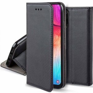 Etui MOTOROLA MOTO E7 portfel z klapką Flip Magnet czarne