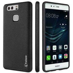 VAKOO Huawei P9 Etui Case Heavy Duty Drop Protection - Huawei P9 (Black)