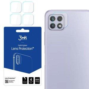 3MK Lens Protect Sam A225 A22 4G Ochrona na obiektyw aparatu 4szt