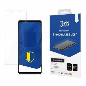 3MK FlexibleGlass Lite Sony Xperia 1 III 5G Szkło Hybrydowe Lite