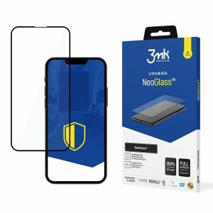 3MK NeoGlass iPhone 13 Pro Max czarny /black