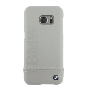 Etui hardcase BMW BMHCS7LLST G930 S7 beżowy/taupe