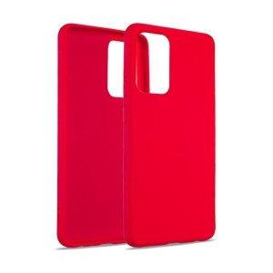Beline Etui Silicone Samsung M12 M127 czerwony/red