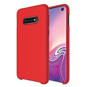 Beline Etui Silicone Huawei P40 Lite czerwony/red
