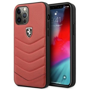 Ferrari FEHQUHCP12LRE iPhone 12 Pro Max 6,7 czerwony/red hardcase Off Track Quilted