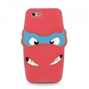 Silikon 3D Sam A5 A500 Ninja czerwony